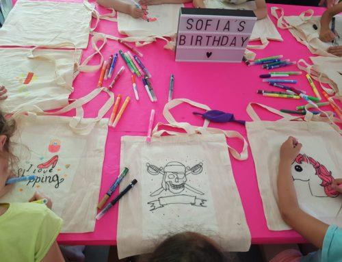 Anniversaire : Sofia, 9 ans