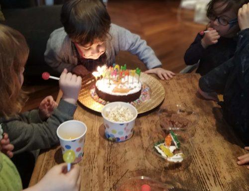 Anniversaire : Alexandre, 4 ans