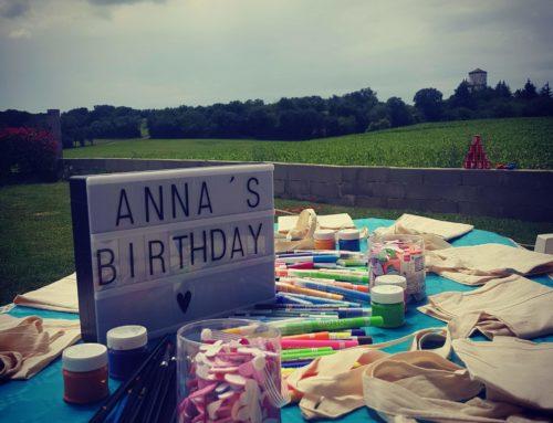 Anniversaire surprise pour Anna